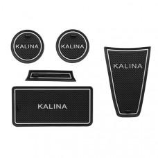 Комплект силиконовых ковриков для Lada Kalina