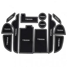 Силиконовые коврики для Nissan Teana (13 шт)