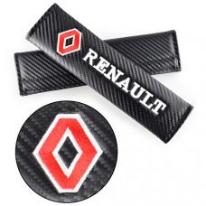 "Накладки на ремень безопасности ""Renault"""