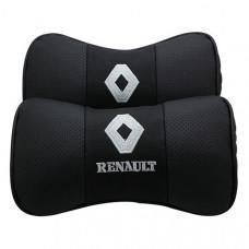 Подушка-подголовник с логотипом Renault (2 шт)