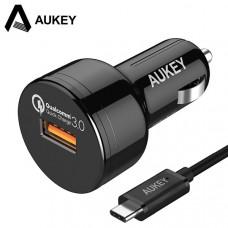 Автомобильное зарядное устройство Aukey CC-T12
