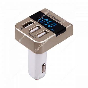 Зарядное устройство - 3хUSB 3.1А