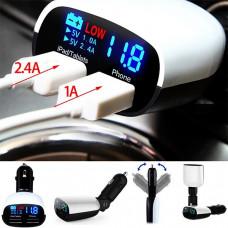 Автомобильное зарядное устройство 2хUSB 3.4А