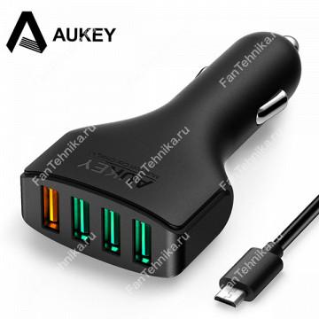 Автомобильное зарядное устройство Aukey CC-T9