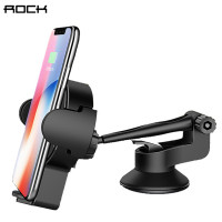 Держатель Rock W2 Pro Car Wireless Charging Stand