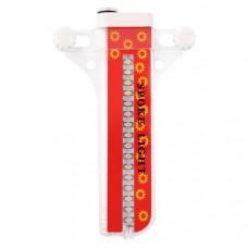 Светодиодный дисплей-подсветка на колесо 32 led