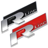 """Металлический 3D шильдик """"R-Line"""""""