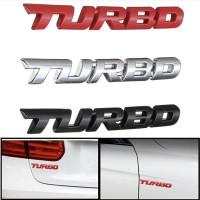 """Металлический 3D шильдик """"Turbo"""""""