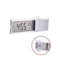 Электронные часы с прозрачным ЖК-дисплеем