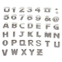 Хромированные 3D буквы на автомобиль (комплект)