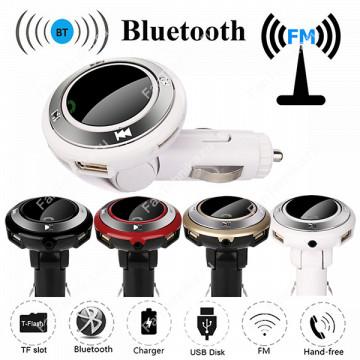 Автомобильный Bluetooth FM-трансмиттер Q7