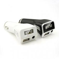 FM-трансмиттер 2 в 1 (MP3, USB)