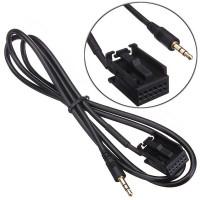 AUX кабель 3.5 мм для Ford Focus, Mondeo, Fiesta, S-MAX