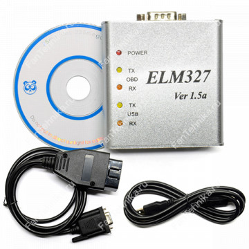 Адаптер ELM327 v1.5 USB (Металлический корпус)