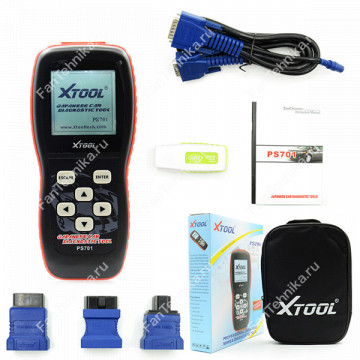Диагностический сканер Xtool PS701 Japan Cars