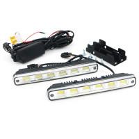 Дневные ходовые огни 6 LED-COB (комплект)