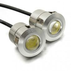 Врезные линзованные светодиоды - 9 Вт (2 шт)