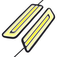 Универсальные ДХО с функцией поворотника (2 шт)