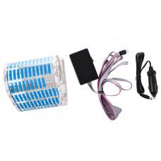 Эквалайзер на стекло автомобиля (Синий)