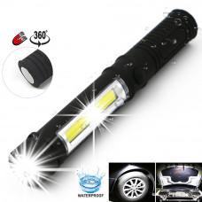 Светодиодный фонарик с магнитным держателем