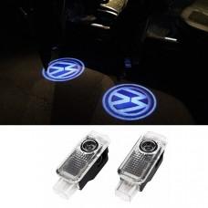 Штатная подсветка дверей Volkswagen Passat B5