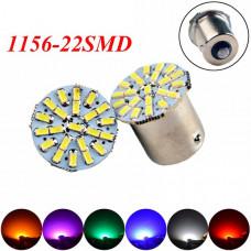 Светодиодные лампы 1156 (P21W, BA15S) 22хSMD3014