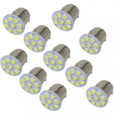 Светодиодные лампы 1156 (BA15S) / 1157 (BAY15D) - 10 шт