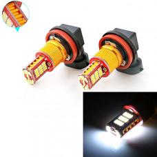 Светодиодные лампа H11 33хSMD 4014 с обманкой (2 шт)