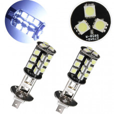Светодиодные лампы H1 27хSMD 5050 (2 шт)