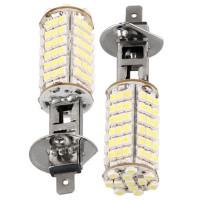 Светодиодные лампы H1 102хSMD3528 (2 шт)