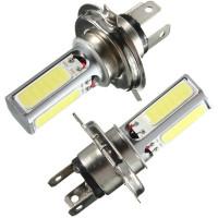 Светодиодные лампы H4 4хCOB (2 шт)