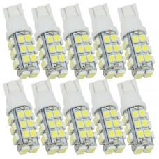 Автомобильные светодиодные лампы Т10 28хSMD1210 (10 шт)