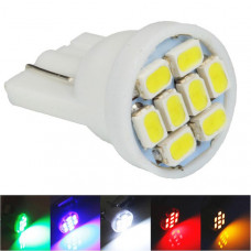 Светодиодные лампы T10 (W5W) 8хSMD1206 (10 шт)