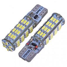 Светодиодные лампы Canbus T10 (W5W) 54-SMD 3014 (2 шт)