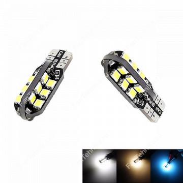 Автомобильные светодиодные лампы Т10 24хSMD2835 (2 шт)