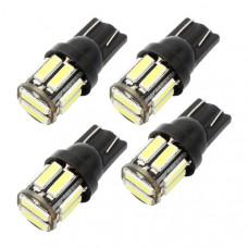 Светодиодные лампы T10 (W5W) 10хSMD 7020 (4 шт)