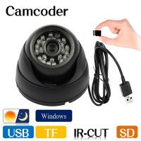 Купольная USB камера с ИК-подсветкой