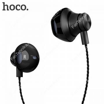 Универсальные наушники с микрофоном Hoco M18
