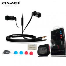 Вакуумные наушники с микрофоном Awei ES600i
