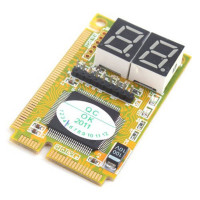 PCI-E диагностическая карта с индикатором на 2 цифры
