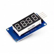LED индикатор с I2C драйвером TM1637