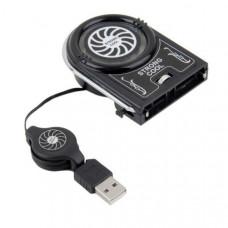 Охлаждающий USB вентилятор для ноутбука