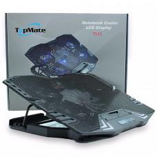 Охлаждающая подставка TopMate TM5 с LCD дисплеем