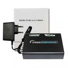 Конвертер HDMI - RCA / S-VIDEO