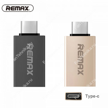 Адаптер Remax OTG USB Type-C - USB 3.0