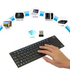 Беспроводная клавиатура с тачпадом Zoweetek K12BT-1