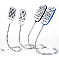 USB лампа на гибкой ножке 28 LED