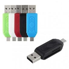 Внешний OTG-картридер (micro-USB/USB)