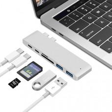 USB-концентратор для MacBook Pro 2016/2017 (6 в 1)