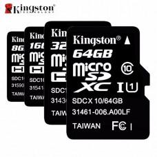 Карта Kingston SDHC MicroSD 10Class
